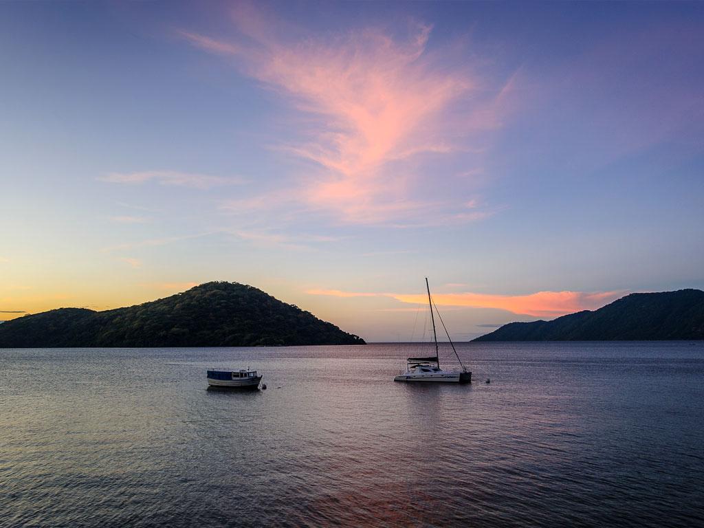 Croisière au Malawi - coucher de soleil
