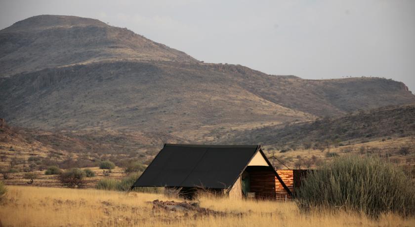 Safari Namibie Beauté Sauvage - tente à Etendeka
