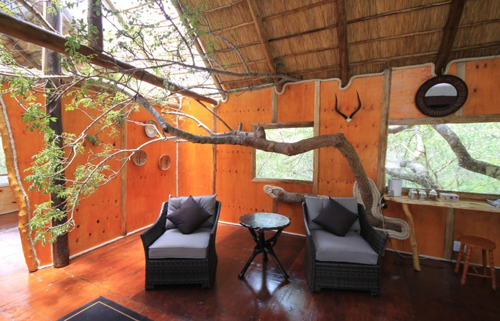 Détente à Pezulu Tree House
