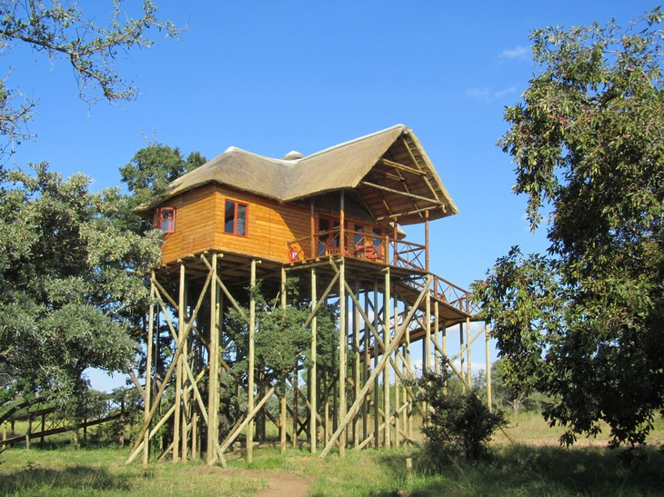 Vue de Pezulu Tree House