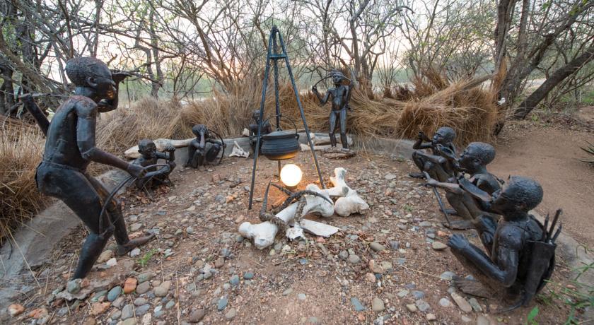 Décoration au African Rock lodge