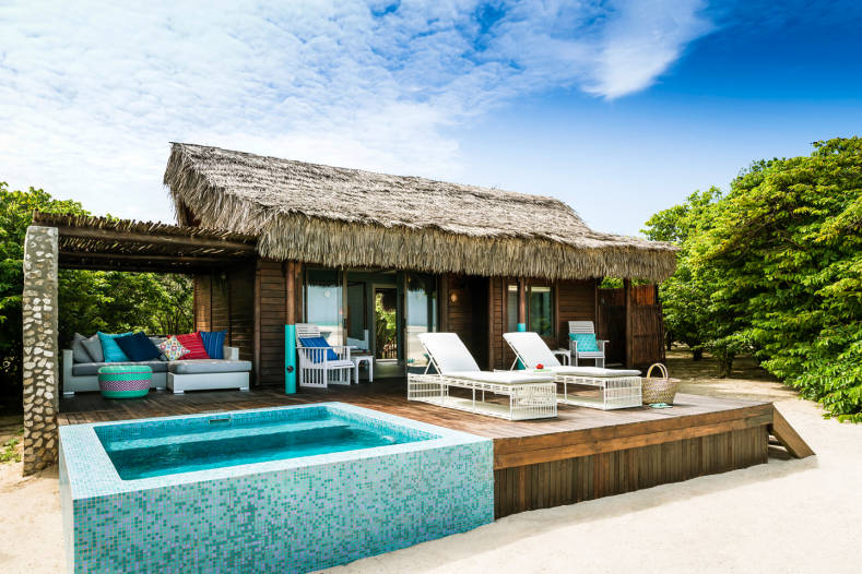Chambre et piscine privée à Anantara Medjumbe Island Resort