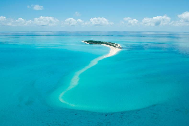 Vue aérienne d'Anantara Medjumbe Island Resort