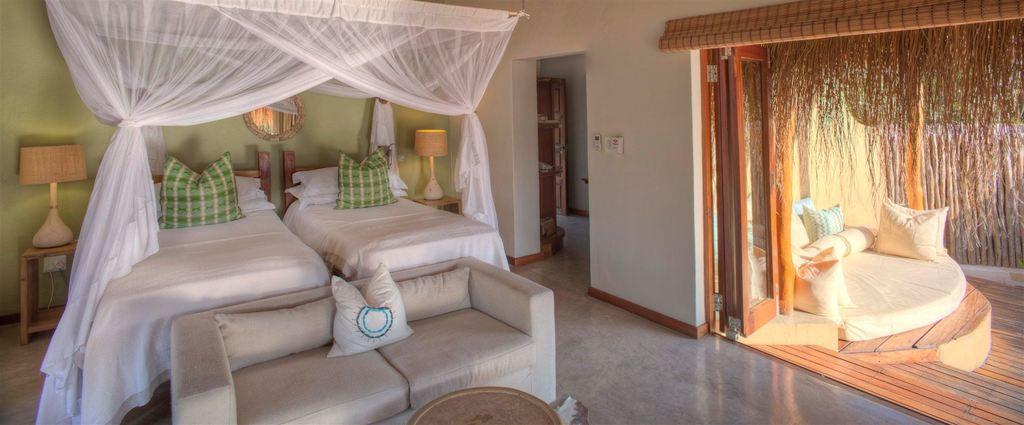 Chambre Beach Villa à Azura Benguerra Island