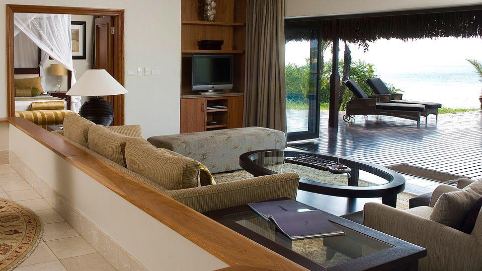 Vue depuis la chambre au Anantara Bazaruto Island resort & Spa