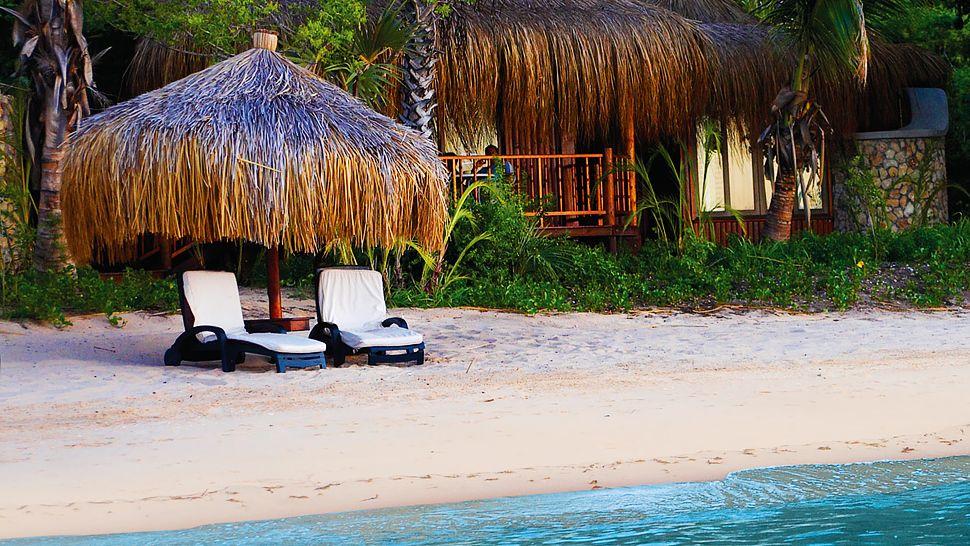 Plage devant la chambre au Anantara Bazaruto Island resort & Spa