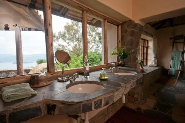 Salle de Bain Virunga Lodge