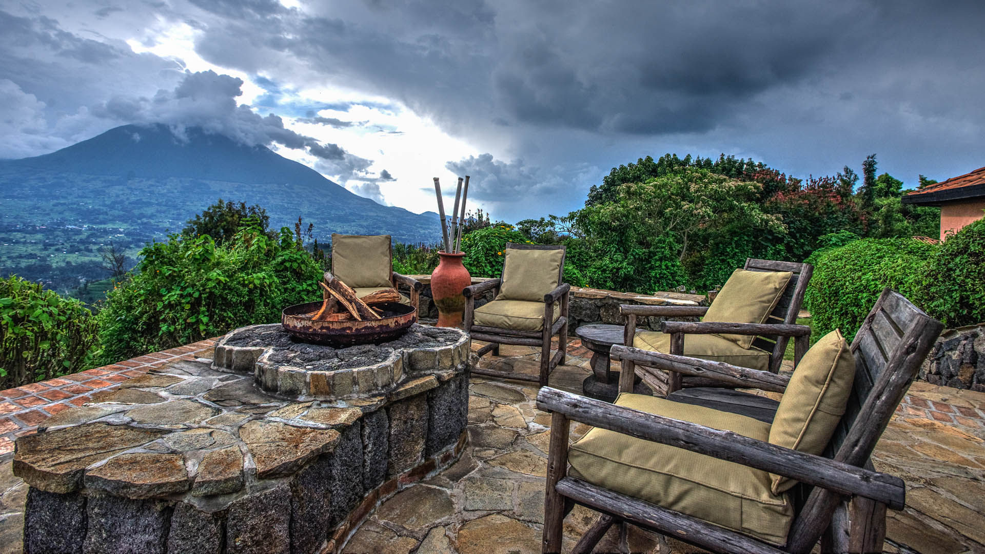Terrasse Virunga Lodge