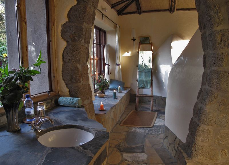 Salle de Douche Virunga Lodge
