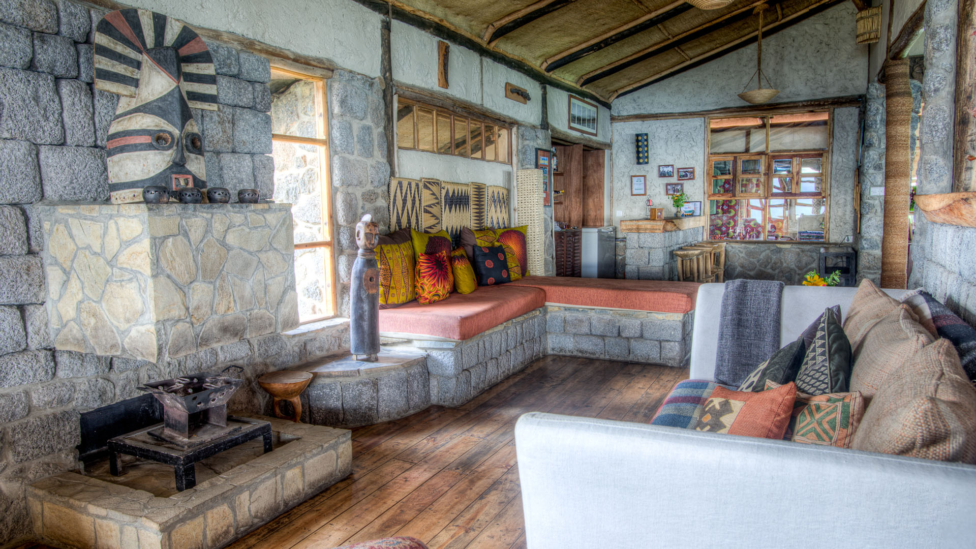 Chambre Virunga Lodge