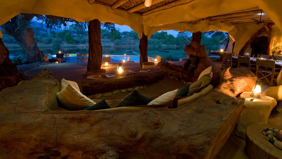 Chongwe River House de nuit