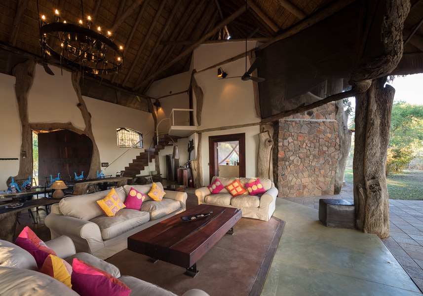 Sallon de la Luangwa Safari House