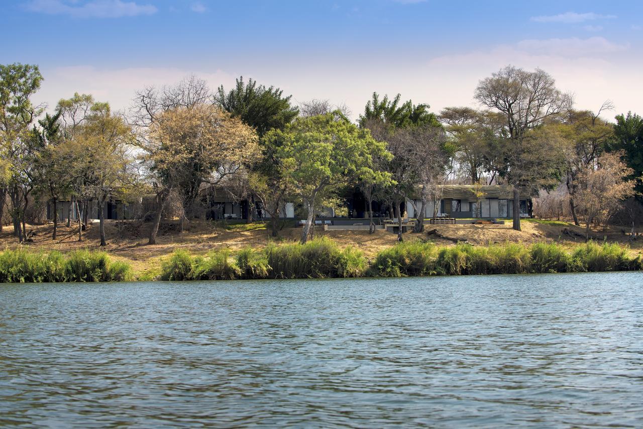 Vue de Matetsi River House