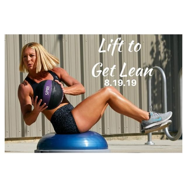 Looking for a fitness and nutrition program that actually works? Tired of spinning, running, CrossFitting yourself into the ground and not seeing results? Confused about what to eat? Looking for support and an amazing coach ;-)? . . I got you. . . The next round of Lift to Get Lean starts on Monday, August 19th. This program focuses on whole foods nutrition, portion control, teaches you how to track macronutrients and stresses the importance of strength training and REST.  Rest? Yes, rest. . . This isn't some downloadable eBook that you purchase and never complete. This is you having your hand held and being walked through the process. . . - Weekly Live video trainings - Daily video lessons - Daily journal entries (because mindset matters) - Custom macronutrients and learning how to track - Easy to use workout portal - Two amazing coaches - And an entire team supporting you for the next 7 weeks. . . Read more and sign up with the link below!