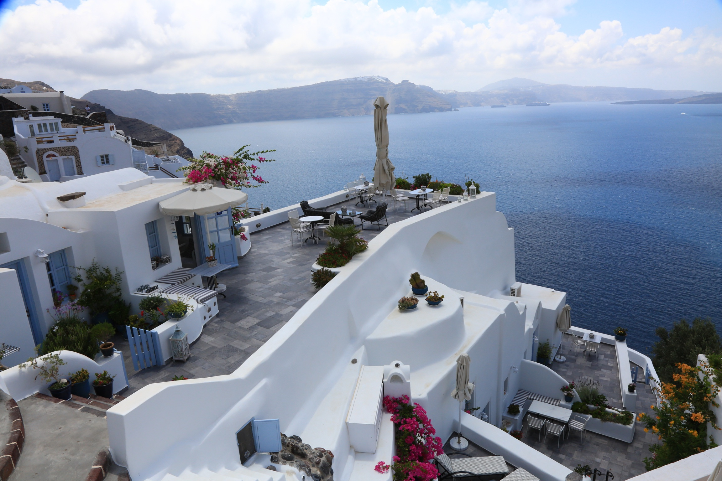 Hotel Review Aris Caves Santorini Greece Family Luxury