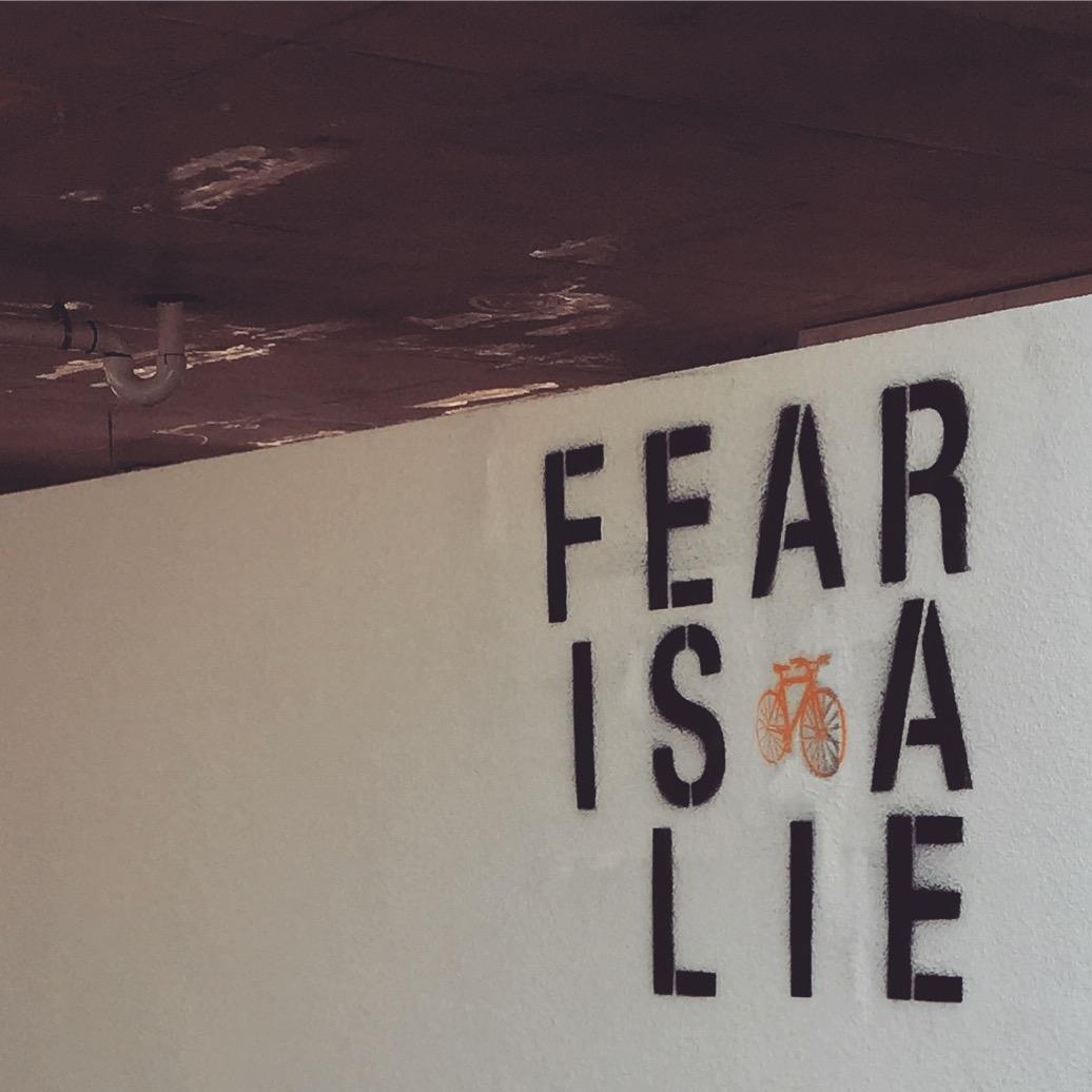 Fear is a lie.jpeg