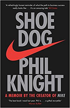 Shoe Dog Phil Knight - How to make the most of the present, effective decision making hacks by personal development and spiritual growth blogger Abiola. Rethink Your Reality