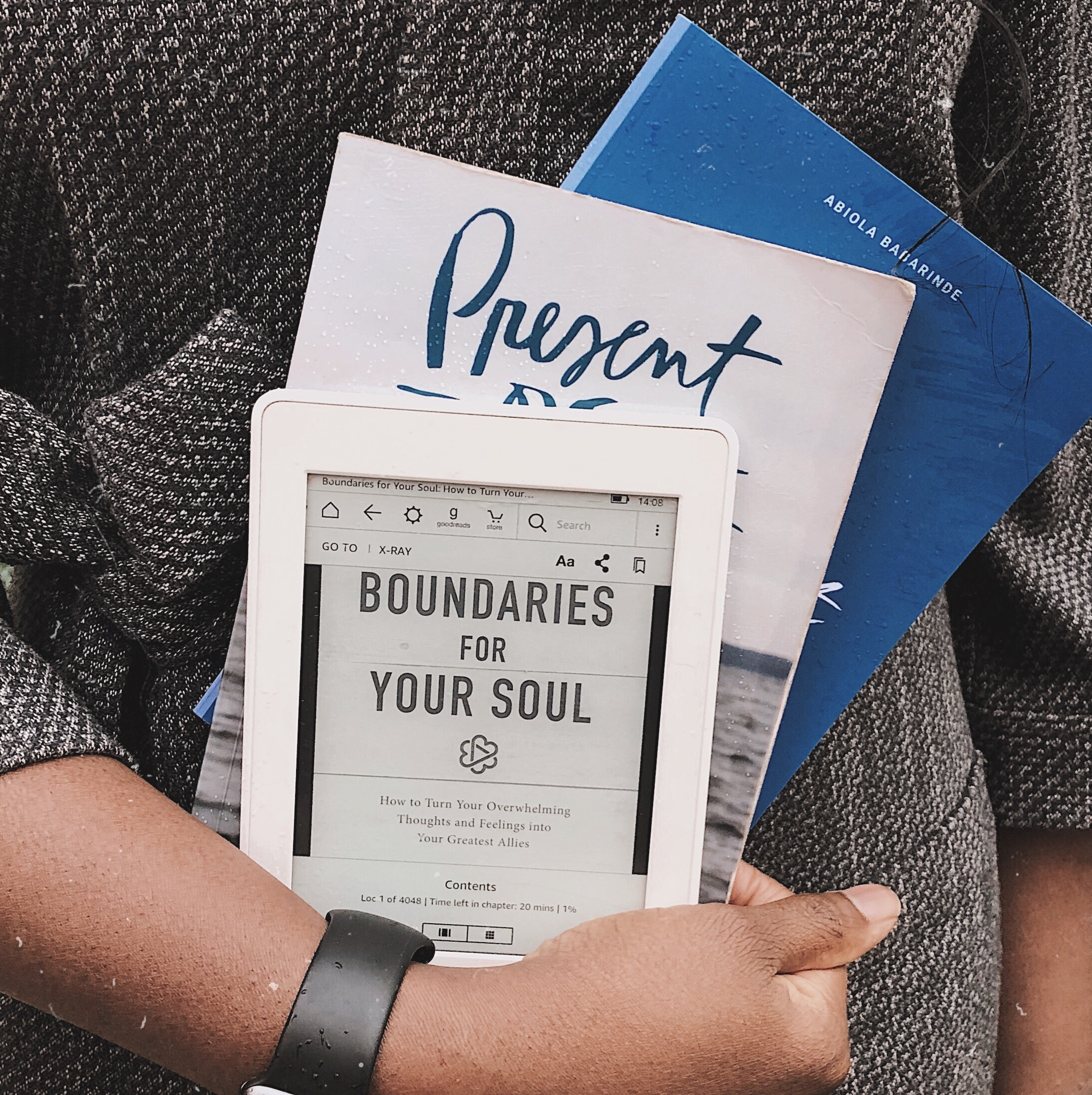 Boundaries for Your Soul, Present Over Perfect by Shauna Neiquist, Take What You Need by Abiola Babarinde