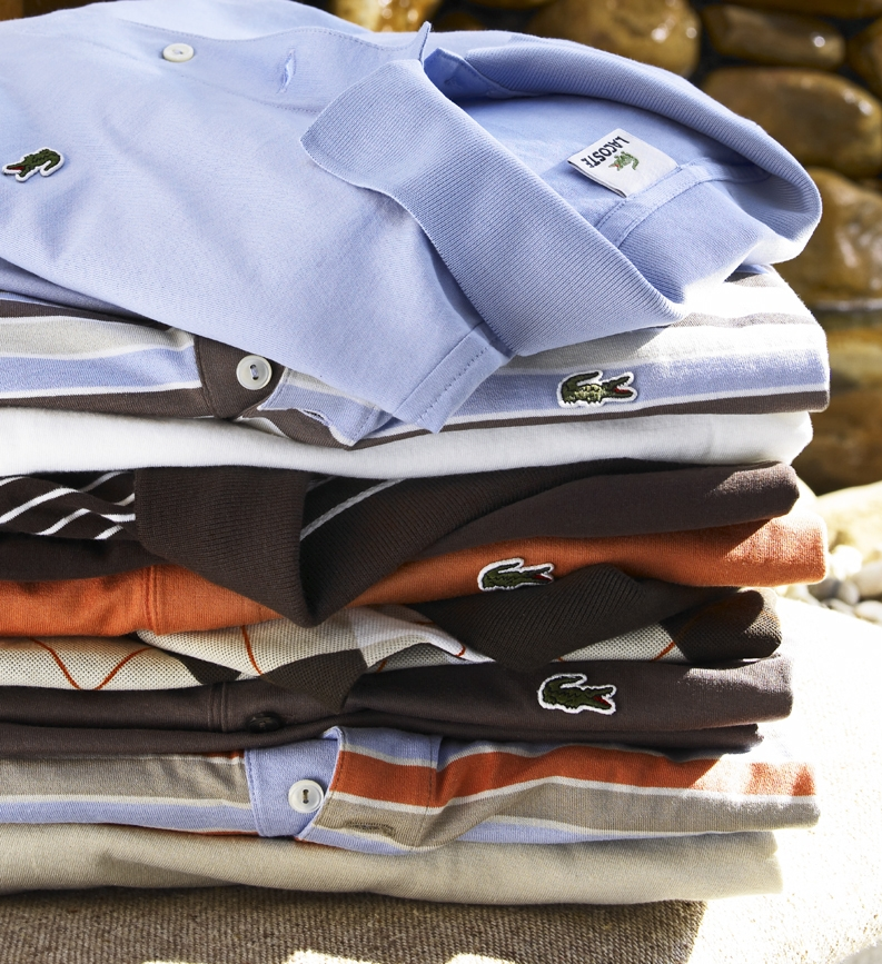 Lacoste Shirt Stack