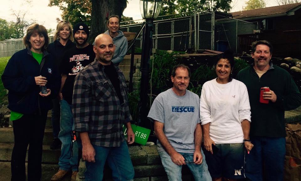 Pittsburgh Aviation Animal Rescue Team volunteering at SHPR