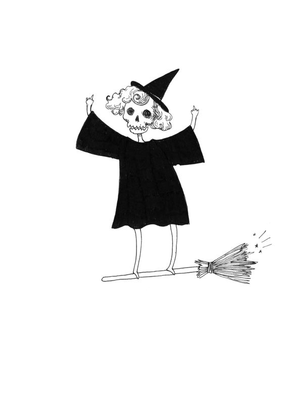 bad witch. - BOARD: ALL HALLOW'S EVE.