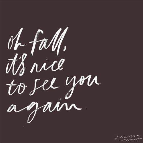 Autumn quote. - BOARD: AUTUMN.