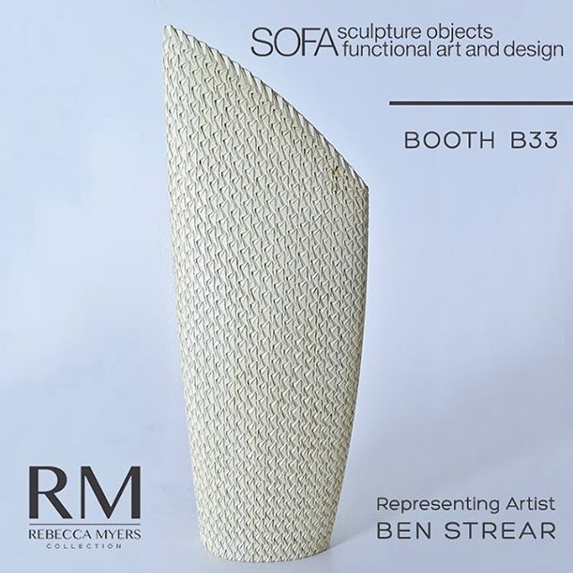 I'm proud to be showing my sculptures with @rebeccamyersdesign as part of @sofaexpo from November 1-4 at the Chicago Navy Pier.  Come check out my work and other talented artists, including @richardhaining. • • • • #woodsculpture #woodsculptures #sofa2018 #sofachicago #woodworking #woodcarving #chicago #finecraft #patterndesign