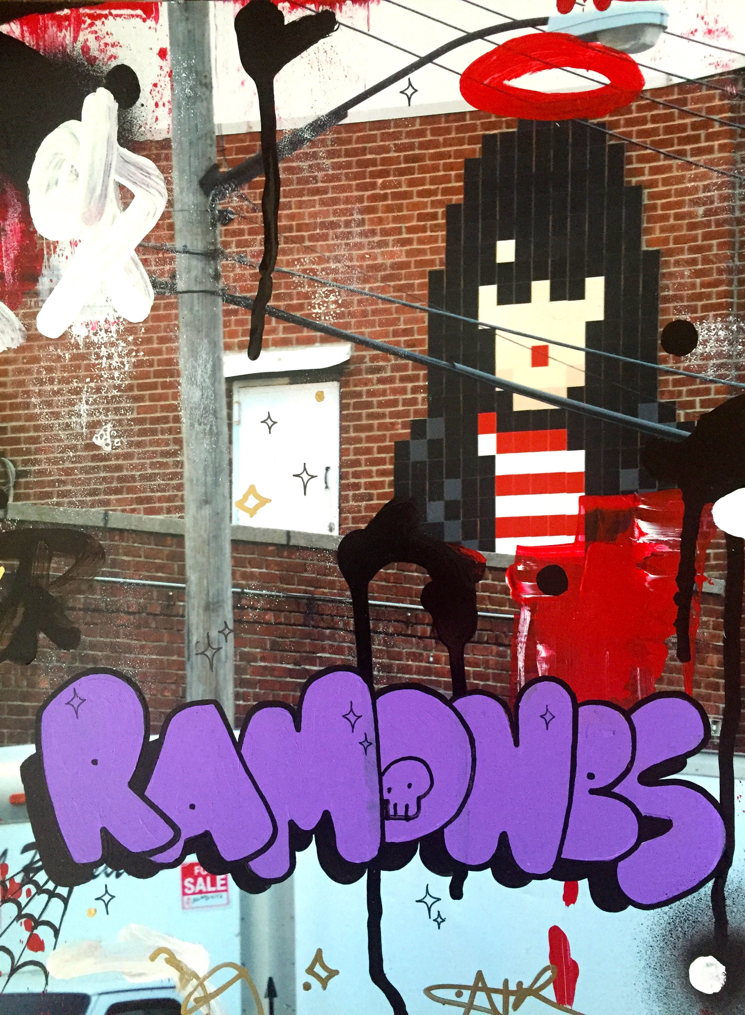 Joey Ramone in Bushwick