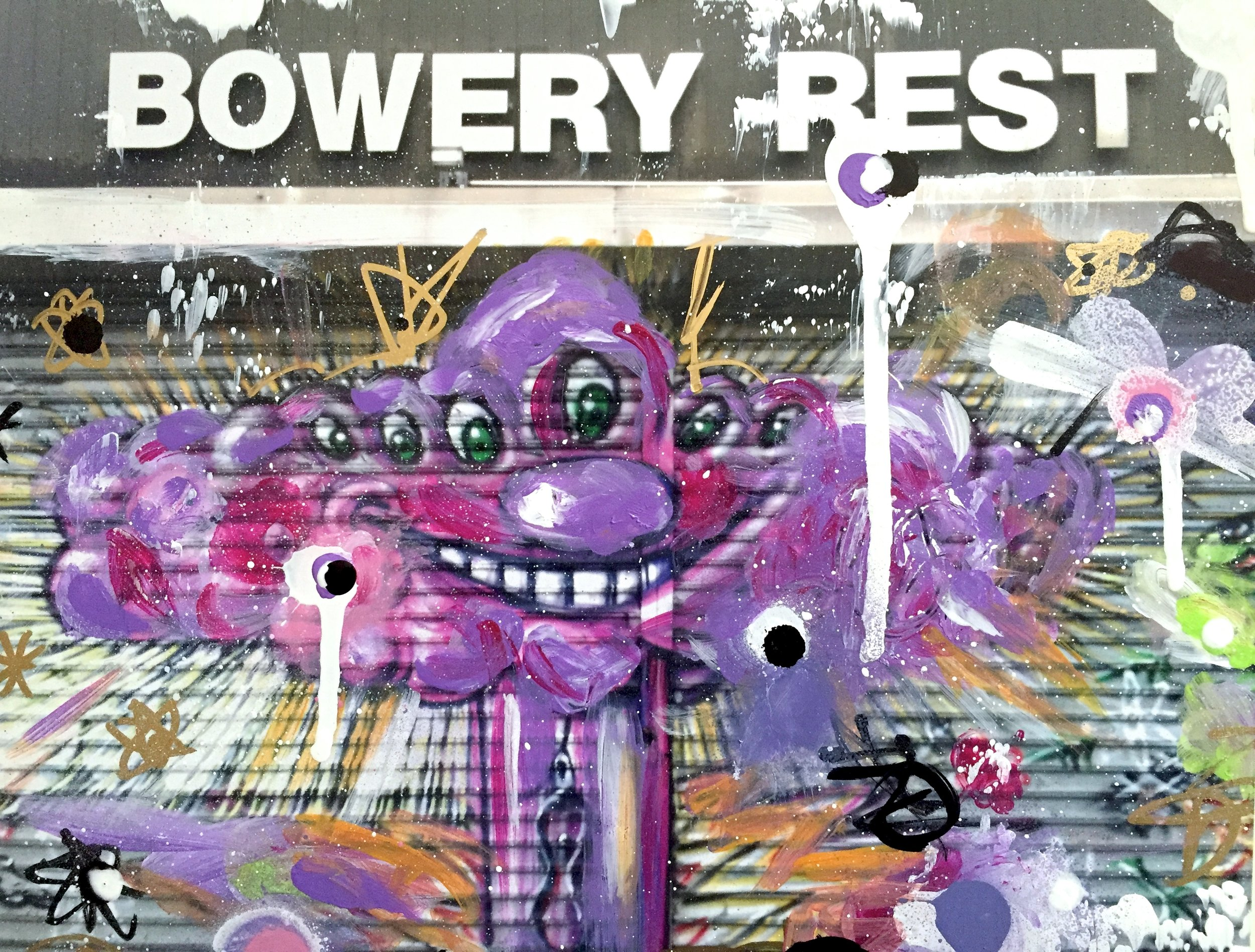 Kenny Scharf (Art Wall)