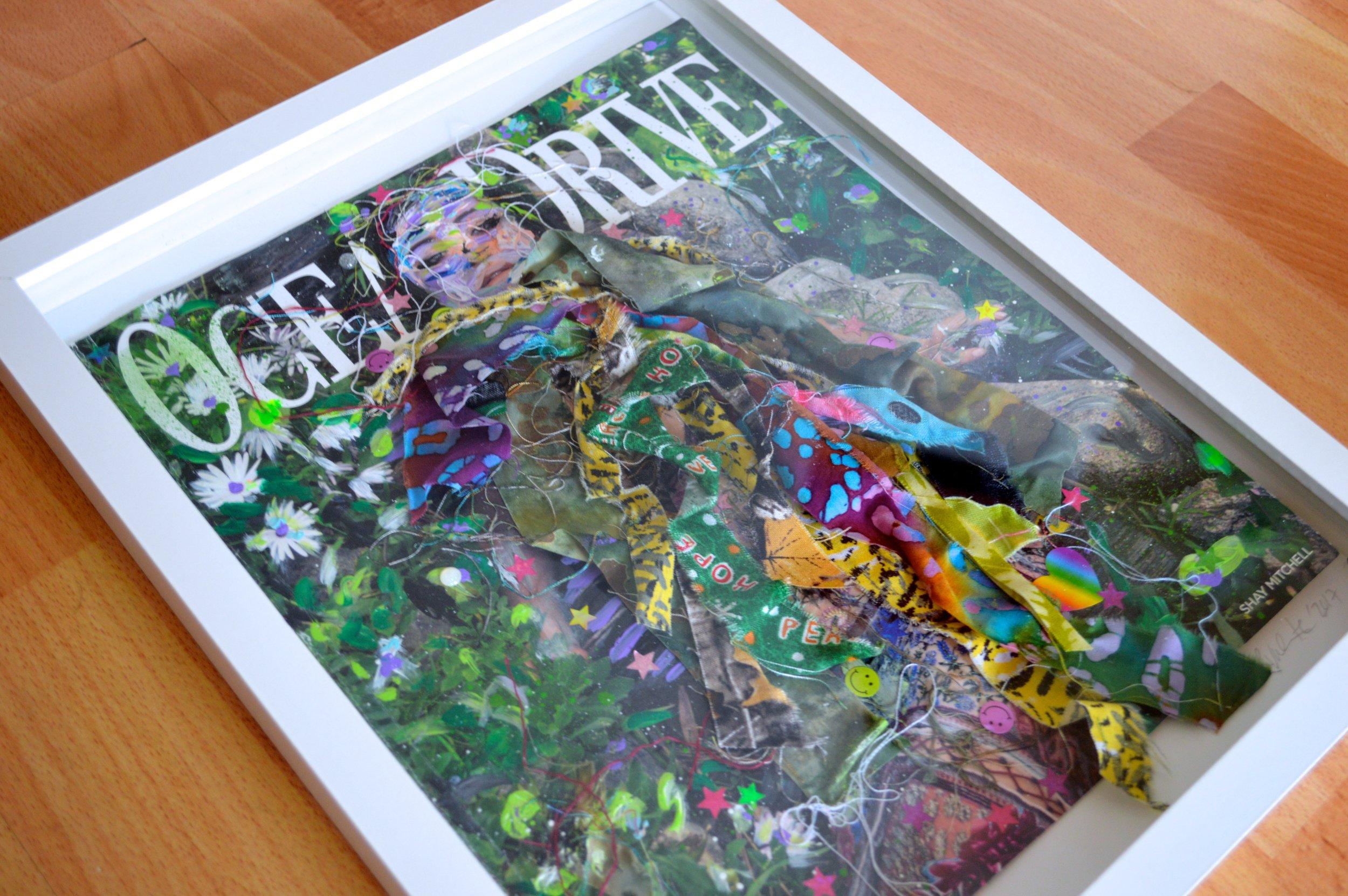 Earthling, (Framed)