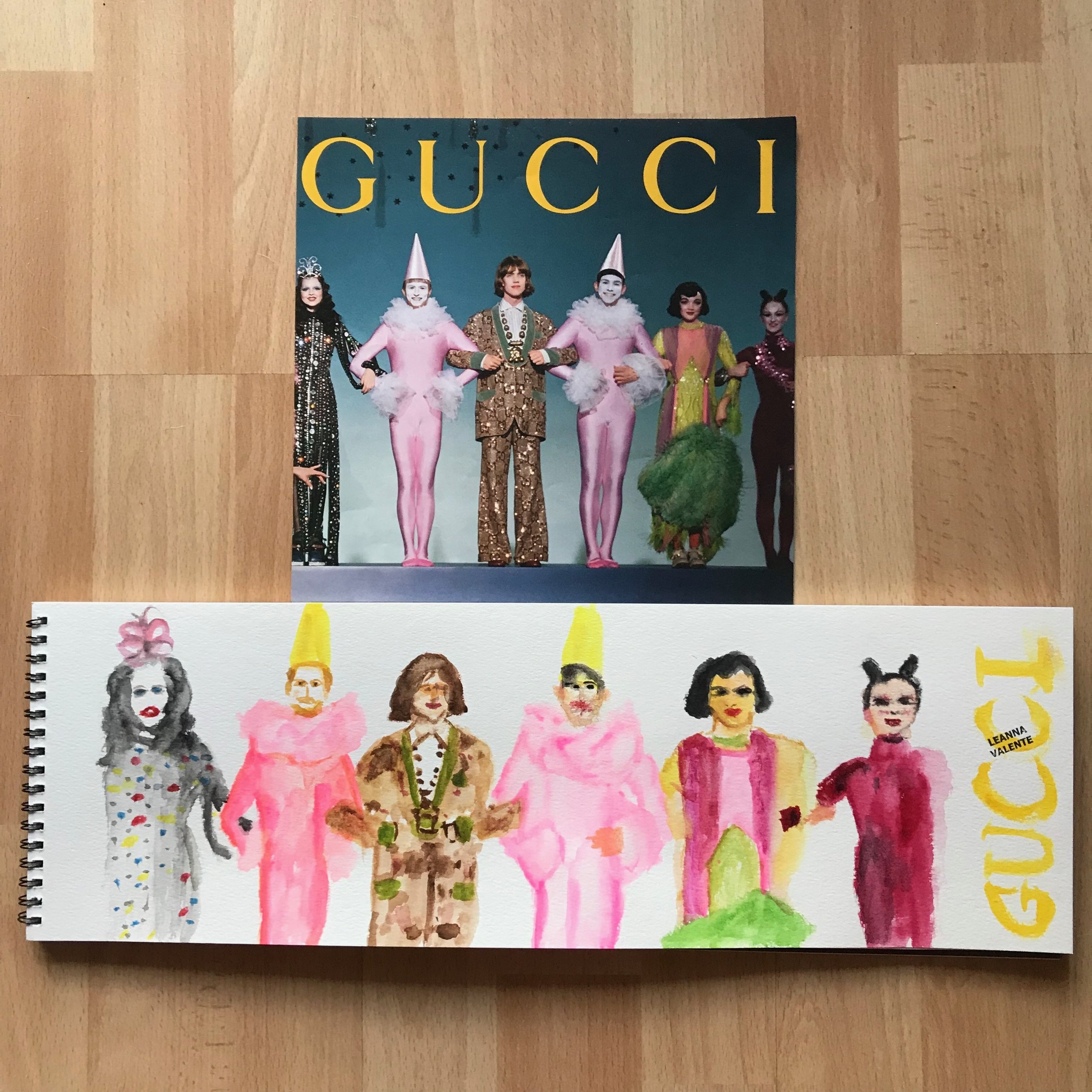 The Line Up. Gucci.