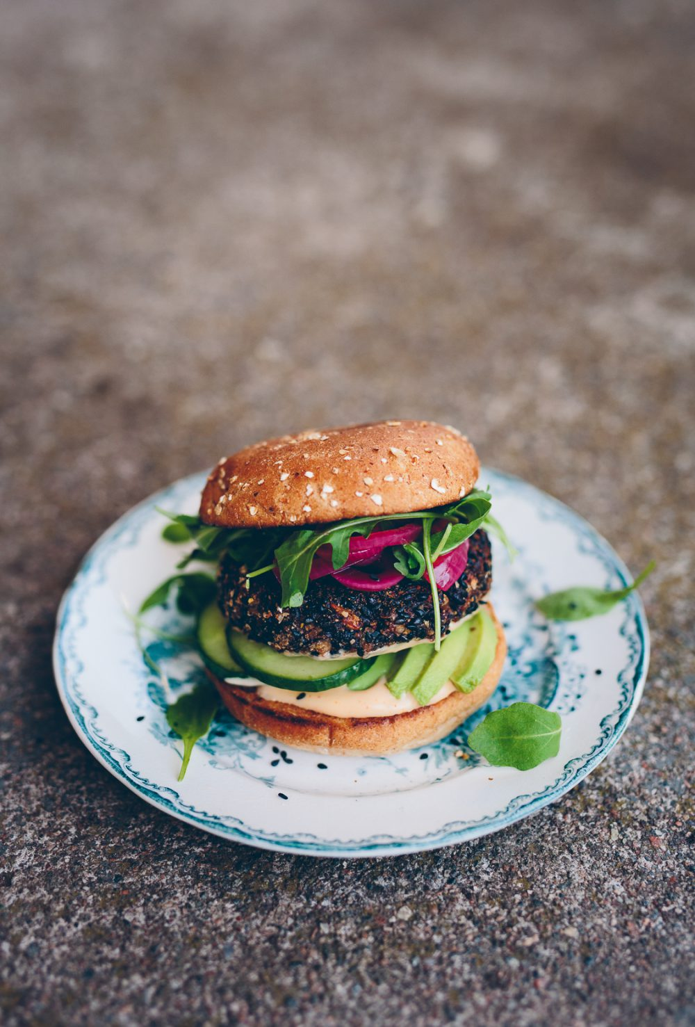 Can't eat a burger as a vegan? Think again!  Cashew Kitchen  recipes are out of this vegan world...