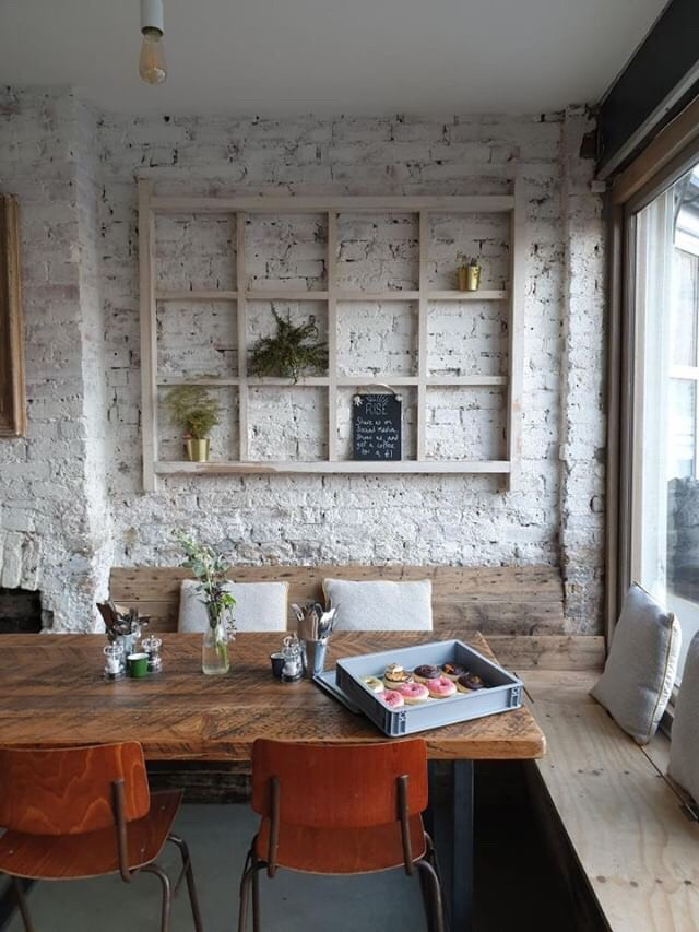 The beautiful interiors of Rise Cafe, Brockley