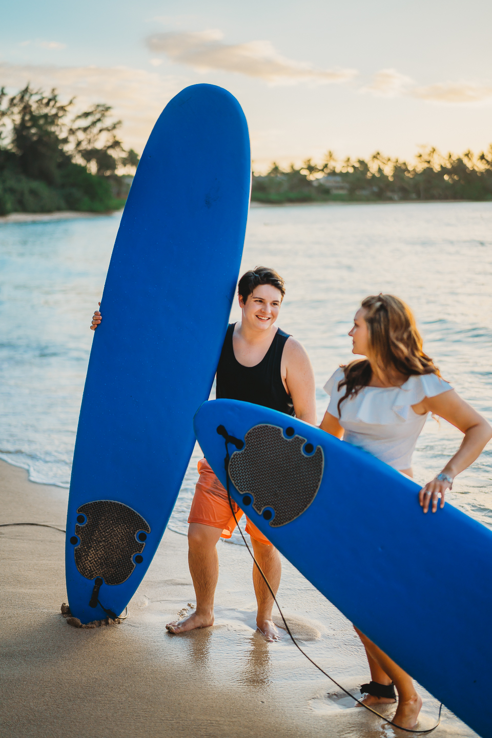 Island Heart Photography | Family Surfing Session | Oahu Hawaii
