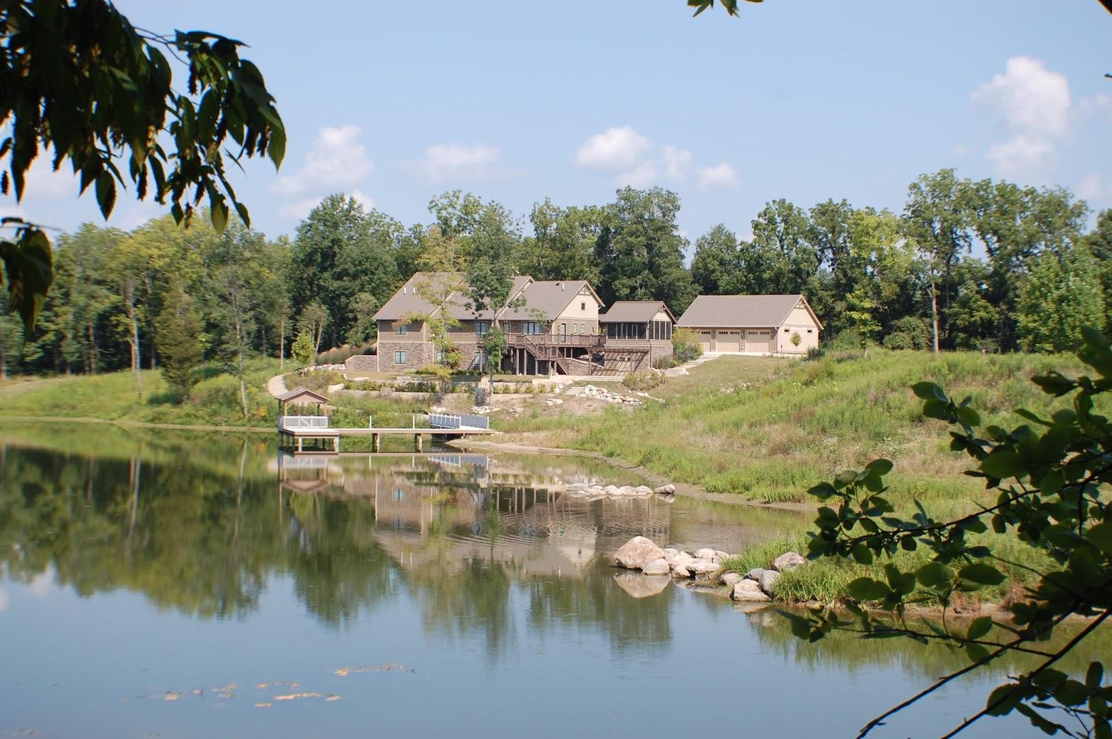 native plant landscape in Greencastle Indiana 12