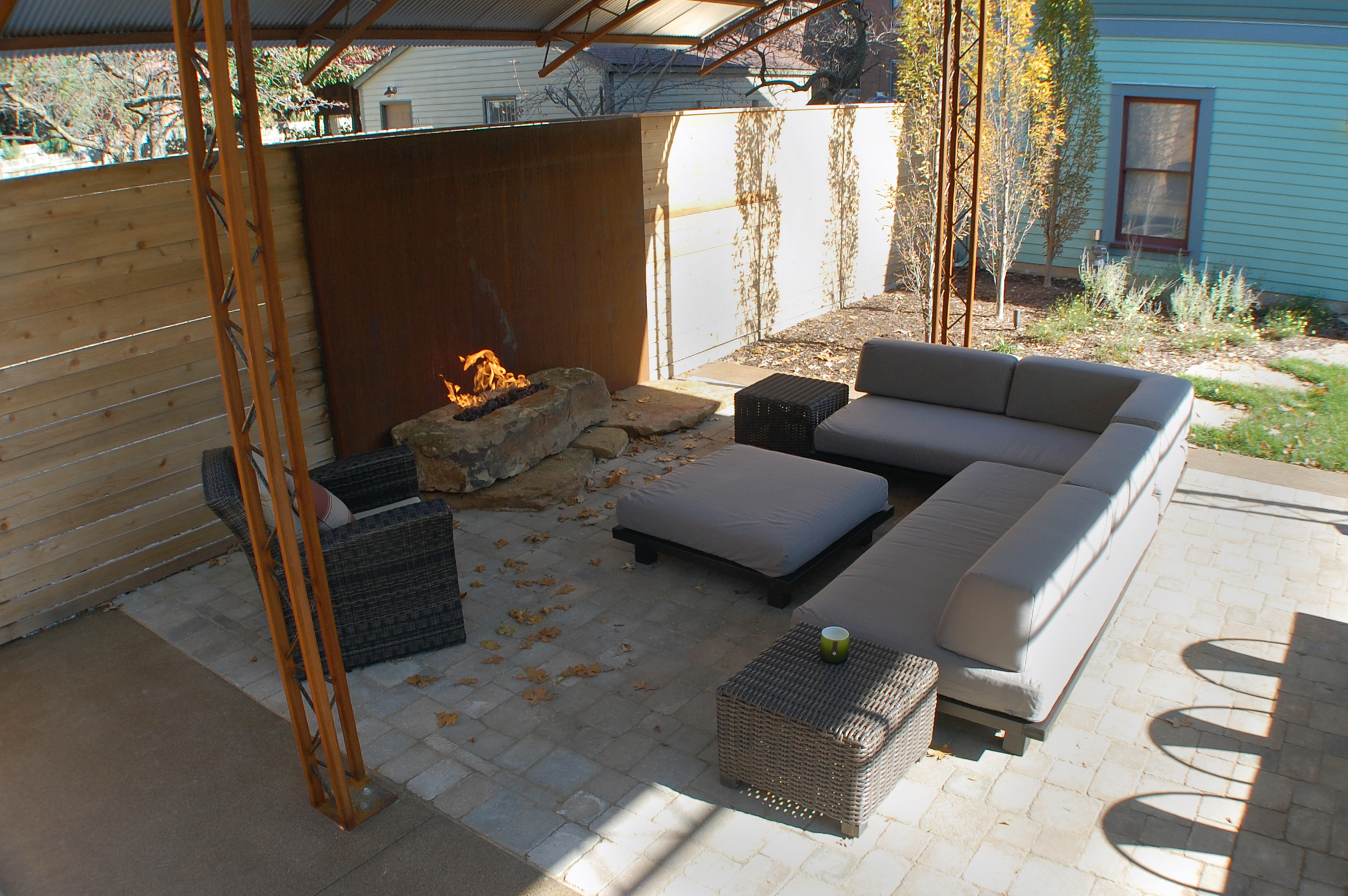 modern outdoor living indianapolis