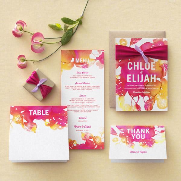 wedding-paper-divas-blooming-together-wedding-invitation-suite-watercolor-theme-invites-purple-pink-fuchsia-yellow-orange-kraft.jpeg