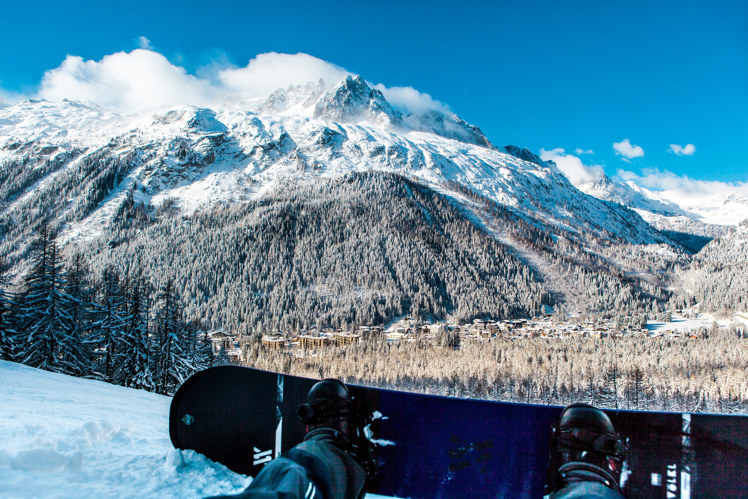 It's all about making the most out of your time in these mountains. - Chamonix Views.