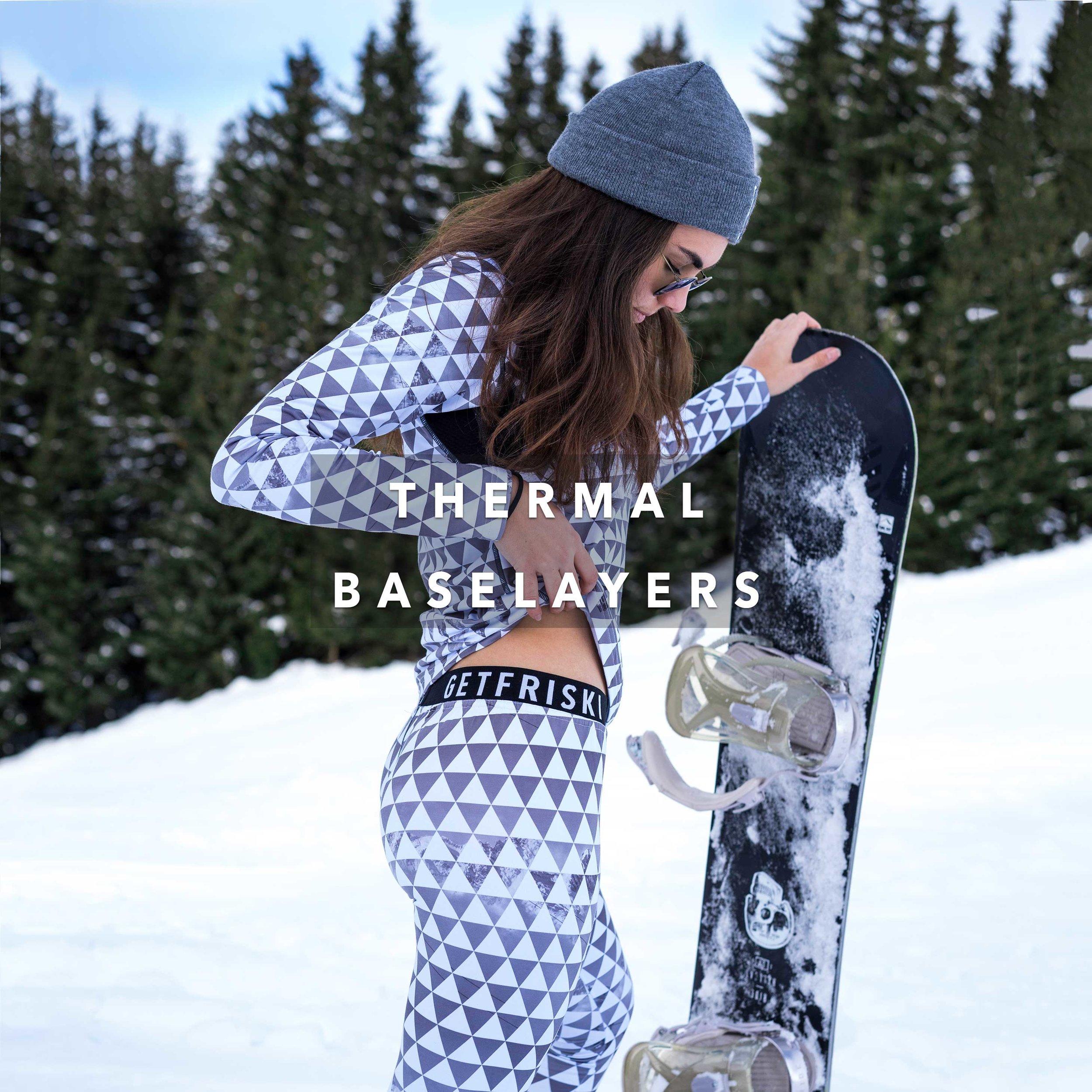 Friski Wear Thermal Base layers