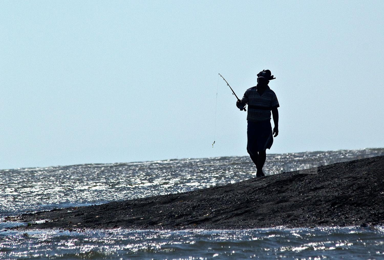 Tarcoles fisherman