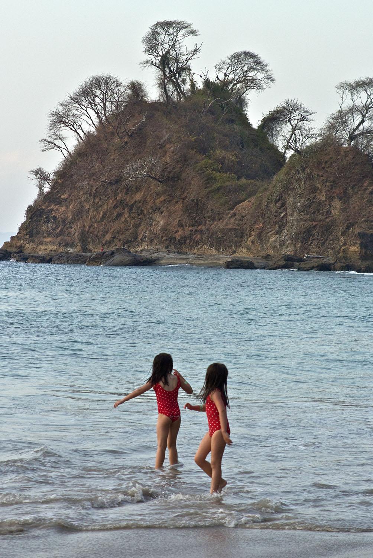 Beach twins