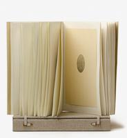 Oval stone book