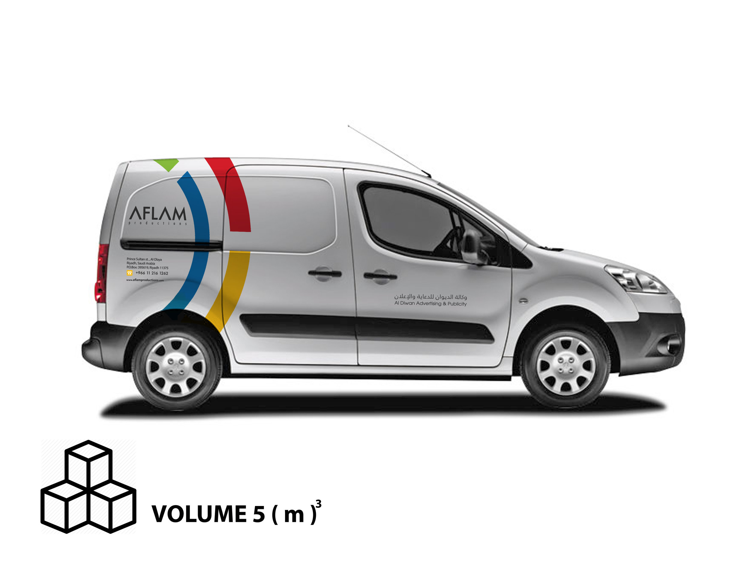 Peugeot Partner / Shelved 5m3