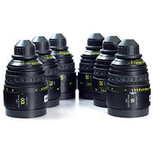 ARRI - Master Prime Lenses (6)   16, 25, 35, 50, 75, 100