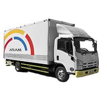 ISUZU Truck - With Hydraulic Lifter / 28m3