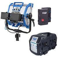 Skypannel - V-Lock Battery Kit  (4 Batteries + Charger)