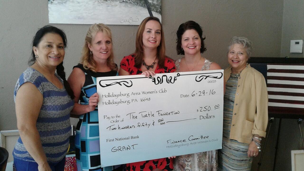 Grant Recipient - The Turtle Foundation - GFWC HAWC