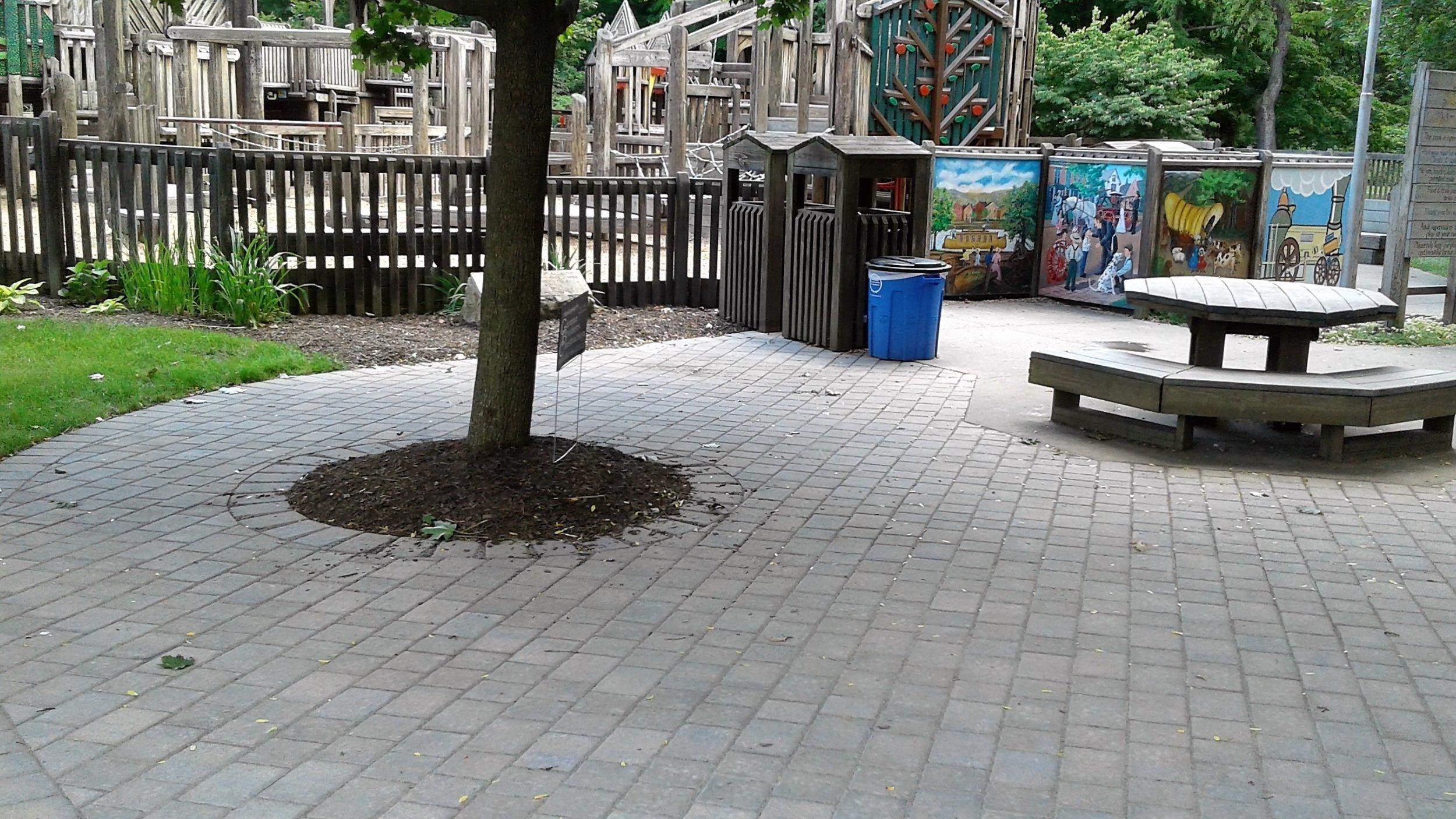 Kid's ingdom Play Park Hardscape Renovation - GFWC HAWC