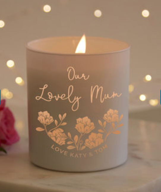 Personalised Gift Candle - £32.00