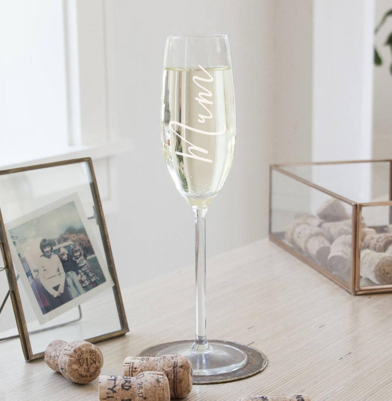 Mum Champagne Glass - £23.00